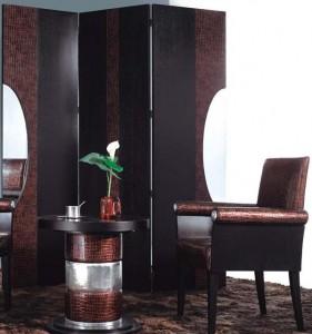 Декориране на интериора с паравани в азиатски стил