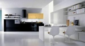 Кухни в черно и бяло- обзавеждане за кухнята