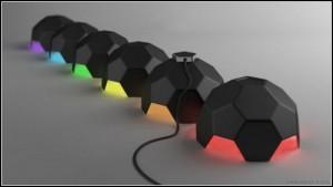 Футболна лампа от Саймън Еневър