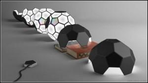 Дизайнерски футболни лампи