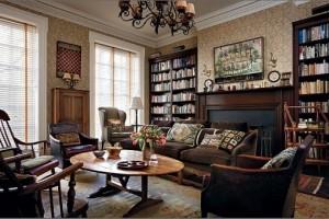 Мебелите и интериора в дома на звездите