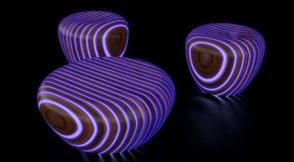 Светещи дизайнерски еко мебели