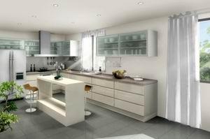 Прозрачна кухня