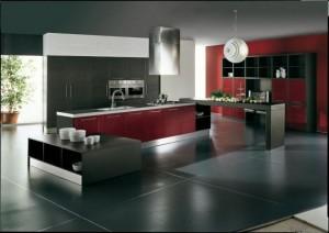 Интериор на модерната кухня