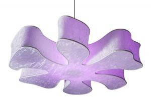 Флорални мотиви лампа